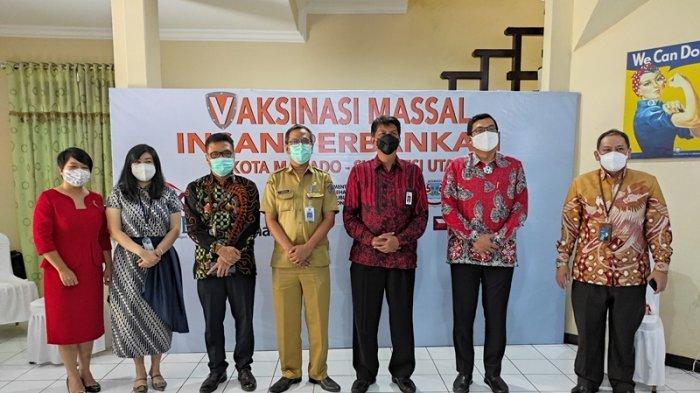 Kolaborasi OJK dan Bank, Pacu Vaksinasi Covid-19 bagi Ribuan Insan Perbankan di Sulut