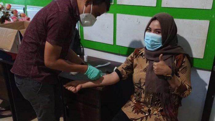 Kepala Puskesmas Nuangan Siap Divaksin, Fhadila Alaydrus: Jaga Hati dan Kesehatan