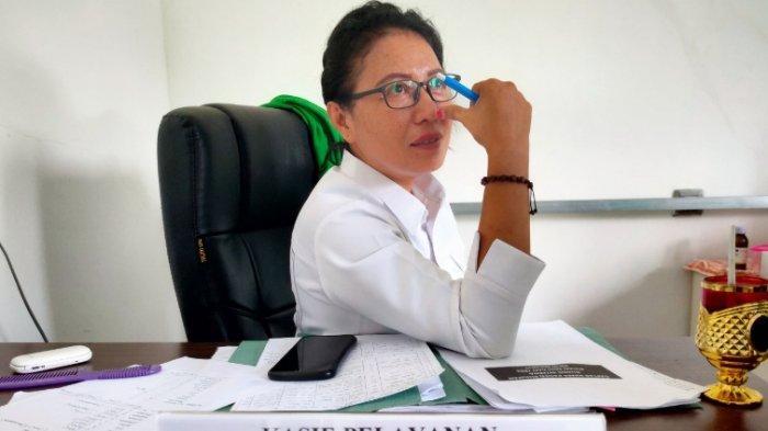 Kepala Seksi Pelayanan Medik RSUD Bolmut Sri Salma Lasama