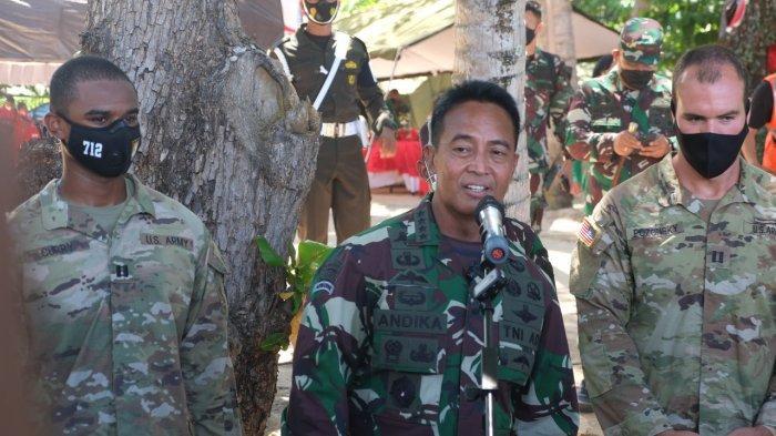 KSAD Jenderal TNI Andika Perkasa Kunjungan di Makalisung Minahasa