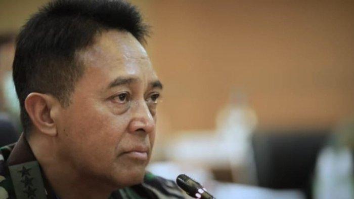 Kepala Staf Angkatan Darat (KSAD) Jenderal TNI Andika Perkasa