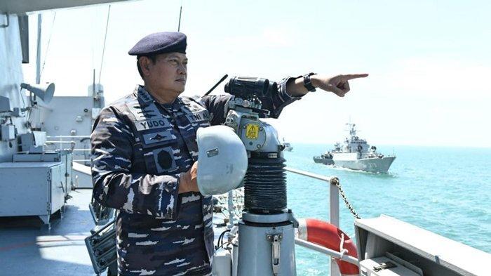 Kata KSAL Laksamana Yudo Margono saat Ditanya Jadi Panglima TNI: ''Kalau Tidak Siap, Nyebur Laut''