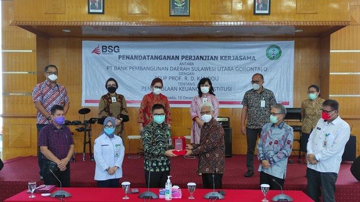 Bank SulutGo Kelola Keuangan RSUP Kandou, Torang pe Bank Komit Beri Pelayanan Terbaik
