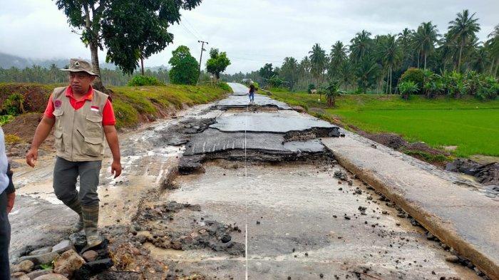 Kerugian Bencana di Bolmong Ditaksir Miliaran Rupiah