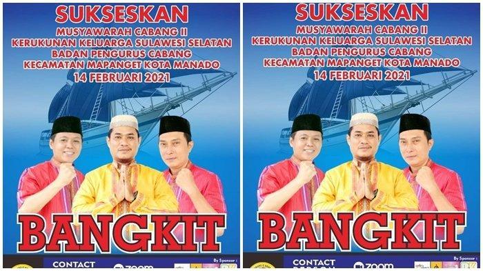 Muscab KKSS Mapanget, Daeng Sira Ajak Masyarakat Sulawesi Selatan Berpartisipasi