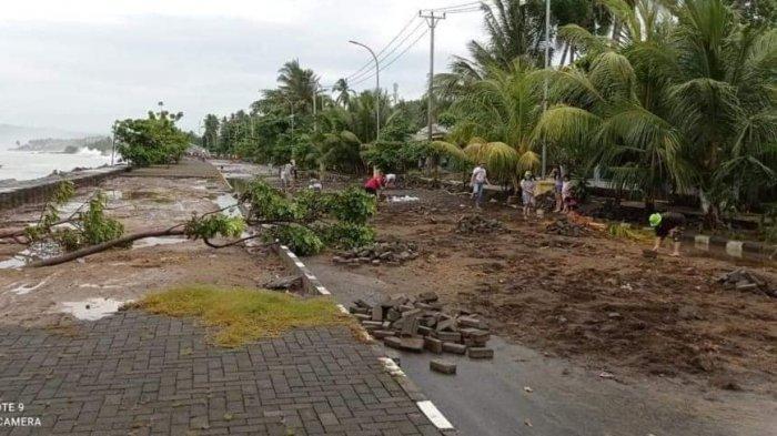 BPBD Minsel: Jangan Dirikan Bangunan Permanen di Wilayah Pantai