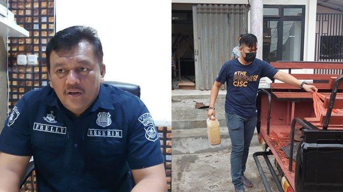 Diduga Karena Sakit Hati karena Masalah Pembagian Rumah, Han Bakar Kamar Anggota DPRD Bitung