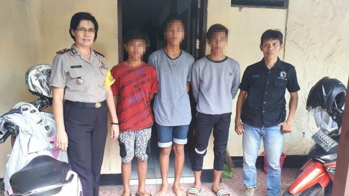 3 Remaja Pencuri HP Ditangkap Polsek Wanea
