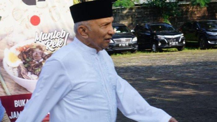 Amien Rais Siap 'Jewer' Kabinet Jokowi-Ma'ruf Meski ada Prabowo: Kita Ambil Peran Lebih Nyata