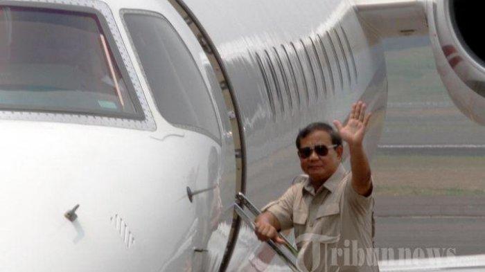 Prabowo Pilih Terbang ke Aceh dengan Pesawat Pribadi, Ketimbang Jenguk Ani Yudhoyono