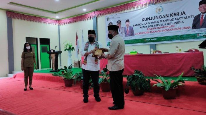 Kunjungi Kabupaten Bolmut, Ketua DPD RI Janji Perjuangkan Bolmong Raya Jadi Provinsi Pemekaran