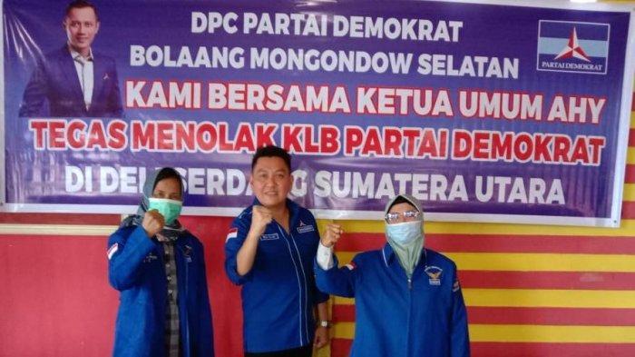 BREAKING NEWS: Hadiri KLB Demokrat Moeldoko, Ketua DPC Bolsel Jamaluddin Razak Diganti