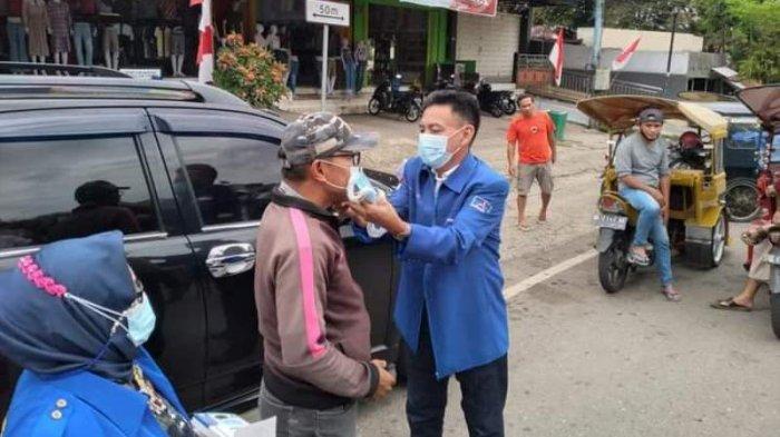 Meriahkan Peringatan 2 Dekade, Partai Demokrat Kotamabagu Bagikan Sembako hingga Masker Gratis