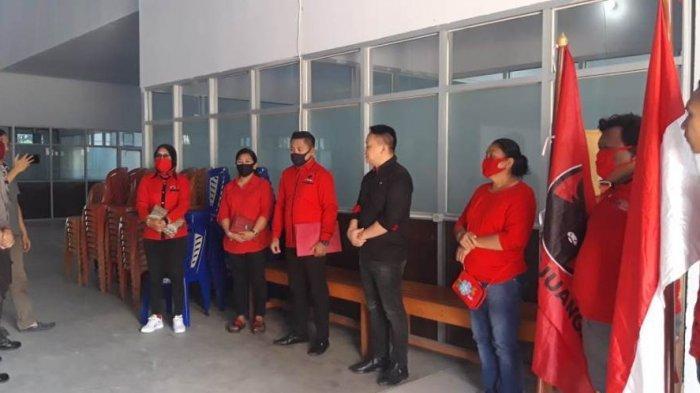 BREAKING NEWS: PDI Perjuangan Boltim Laporkan Pembakaran Bendera Partai di Polres Boltim
