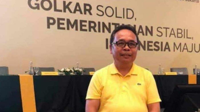 Ketua DPD II Golkar Minut Denny Wowiling