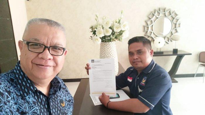 Ambil Formulir Pendaftaran di DPW Partai Nasdem Sulut, Ahmad Pontoh Daftar Bakal Calon Gubernur