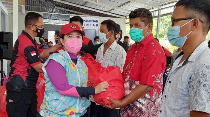 Warga di Kampung Binaan Bahari Sampaikan Ini ke Ketua DPR RI Puan Maharani