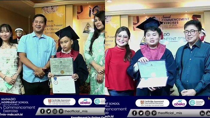 Graduation Day MIS 2020, Debby Apresiasi yang Dilakukan Manado Independent School
