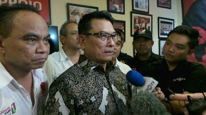 Tim Kampanye Nasional (TKN) Jokowi-Ma'ruf Akan Dibubarkan, Ini Pernyataan Moeldoko