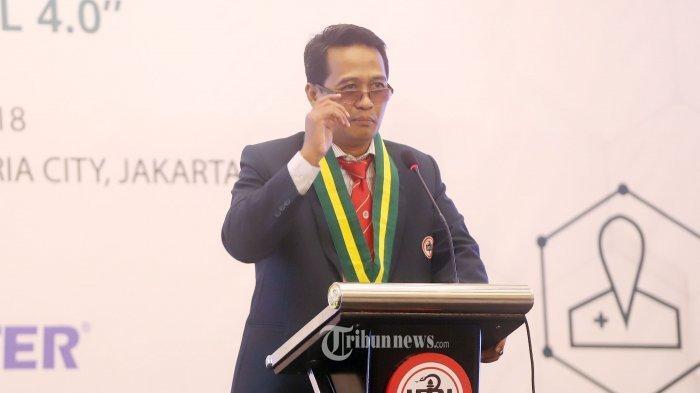 Ketua Ikatan Dokter Indonesia (IDI) Daeng Mohammad Faqih