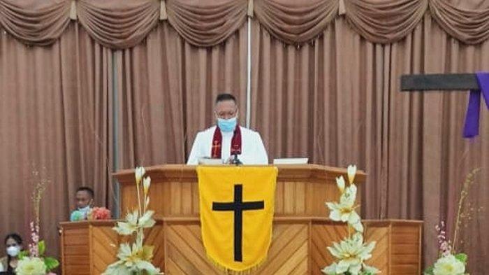 Jemaat GMIBM Musafir Sampiro Rayakan Ibadah Paskah Dengan Sukacita
