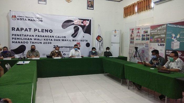 BREAKING NEWS : 4 Pasangan Calon Wali Kota-Wawali Manado Penuhi Syarat