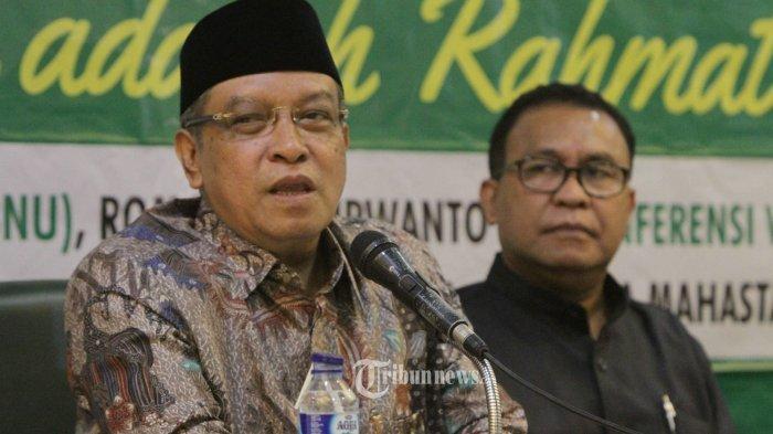 Sosok Said Aqil Siradj, Ketum NU Jadi Komisaris Utama PT KAI, Pengganti Gus Dur di MPR