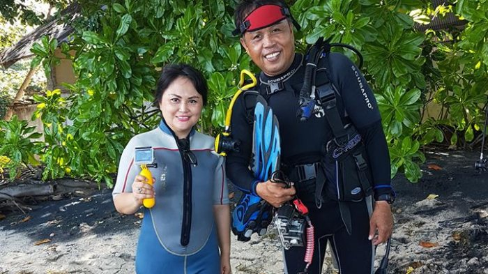 POSSI Minahasa Siapkan 20 Penyelam Wanita demi Pecahkan Rekor MURI di Teluk Manado