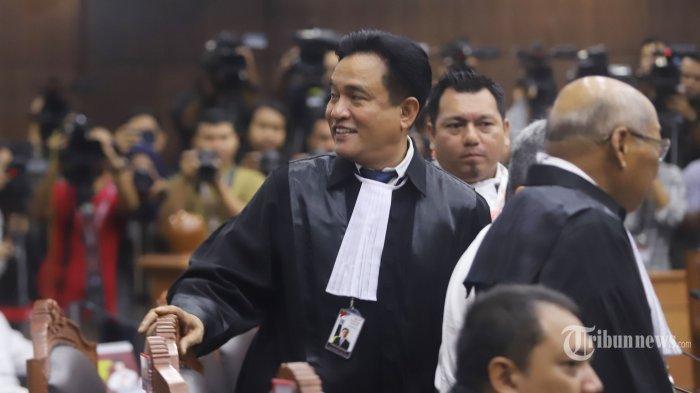 Kuasa Hukum Prabowo-Sandi Ajukan Sengketa Pilpres ke MA,Yusril: Ada Kesalahan Berpikir