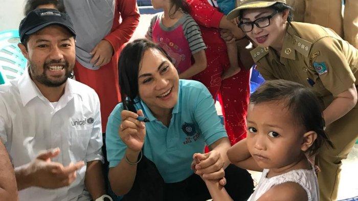 Peduli Kesehatan Anak-anak Bitung, Khouni Lomban Rawung Lakukan Hal Ini