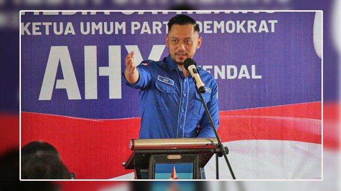 Ketua Umum Demokrat <a href='https://manado.tribunnews.com/tag/agus-harimurti-yudhoyono' title='AgusHarimurtiYudhoyono'>AgusHarimurtiYudhoyono</a> (AHY).