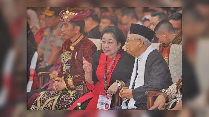 Megawati Desak Jokowi Tunjuk Pengganti Maruf Amin: Tugas yang Diberikan Berat Sekali