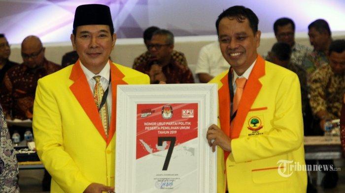 Wakil Ketua Umum Partai Berkarya Dukung Jokowi-Ma'ruf, Ini Reaksi Ketua DPP-nya