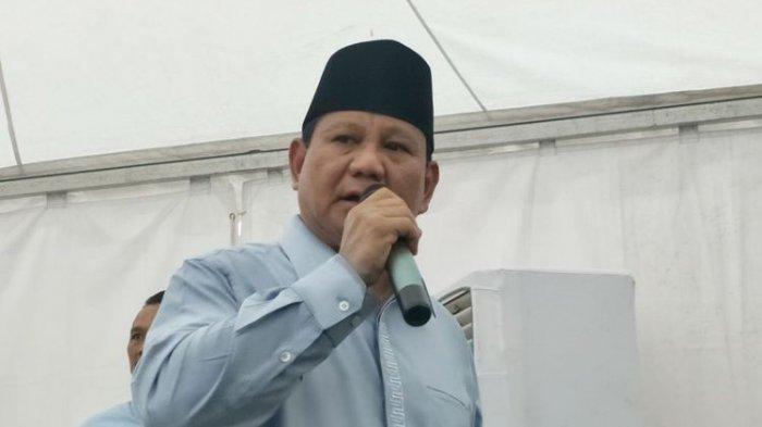 Hadir Dalam Aksi Reuni Akbar 212, Prabowo Sebut Ini Kehormatan buat Dirinya