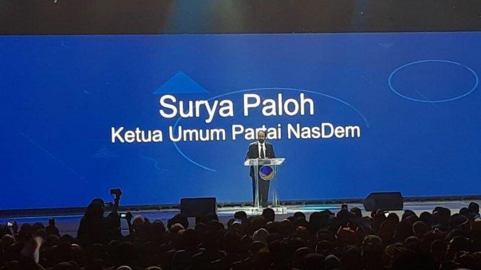 Surya Paloh 'Angkat Bendera Perang', Sebut NasDem tak Hanya Pikirkan Koalisi Jokowi