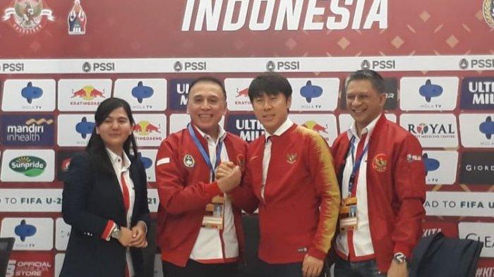 Susunan Staf Pelatih Timnas Indonesia