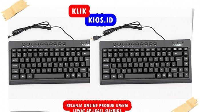 Belanja Yuk! Ada Keyboard Banda di Kios UMKM Sulut