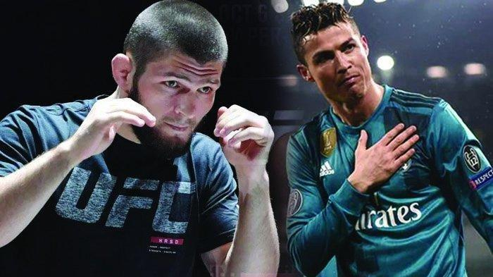 Khabib Nurmagomedov Ingin Bentuk Tim Sepak Bola Bersama Cristiano Ronaldo?