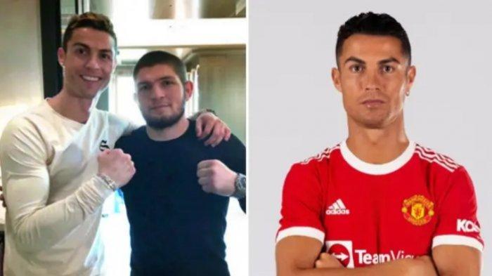 Khabib Nurmagomedov Ungkap Alasan Cristiano Ronaldo Hengkang ke Man United: CR7 Bilang Lewat Pesan