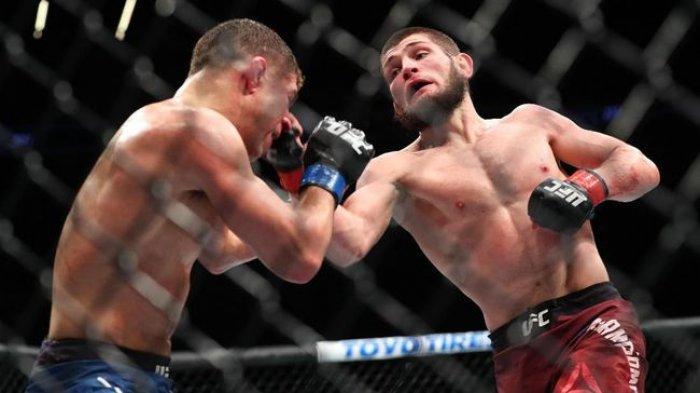 Khabib Nurmagomedov Resmi Pensiun dari MMA Usai Tumbangkan Justin Gaethje