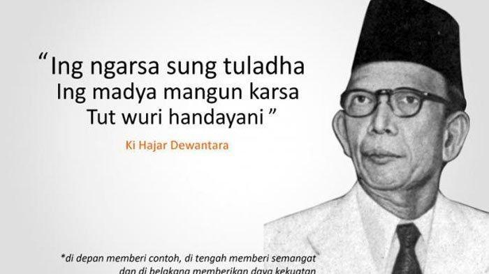 Kata-kata Bijak Ki Hajar Dewantara & Kata-kata Mutiara Ucapan Selamat Hari Pendidikan Nasional