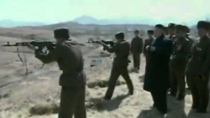 Kim Jong Un Eksekusi Mati Perwira Militer Mayor Jenderal Korea Utara, Marah Perintahnya Ditentang