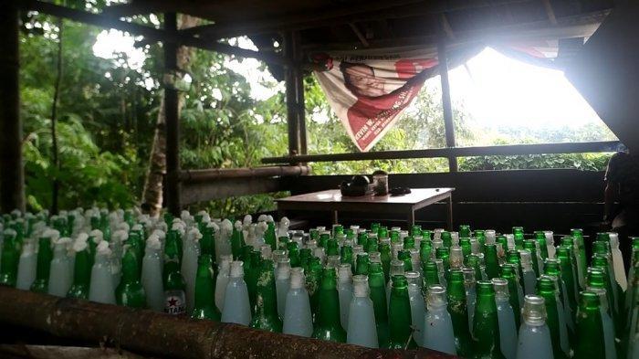 Kios 'Gampang Mo Inga' jual Saguer Manis