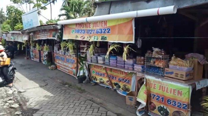 Kisah Penjual Kue Tradisional di Airmadidi Bertahan di Masa Pandemi Covid-19