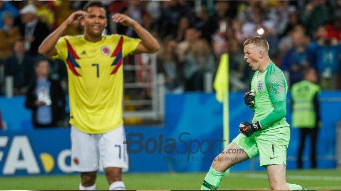 Jordan Pickford Akui Sudah Pelajari Penalti Pemain Kolombia