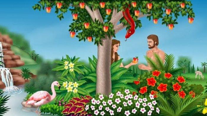 Kisah <a href='https://manado.tribunnews.com/tag/adam' title='Adam'>Adam</a> dan Hawa, Laki-laki dan Perempuan Pertama di Bumi