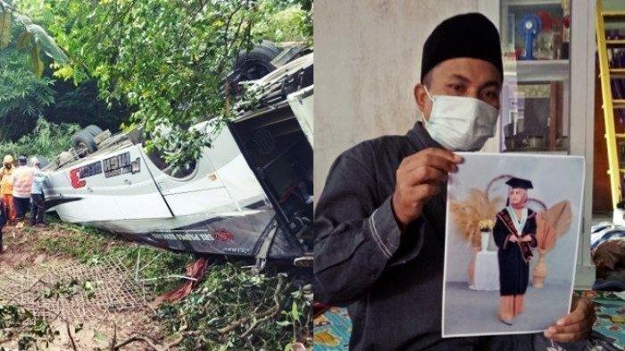 Kisah Calon Pengantin Tewas Dalam Kecelakaan Bus, Ibunda Menangis, Sempat Larang Ikut Ziarah