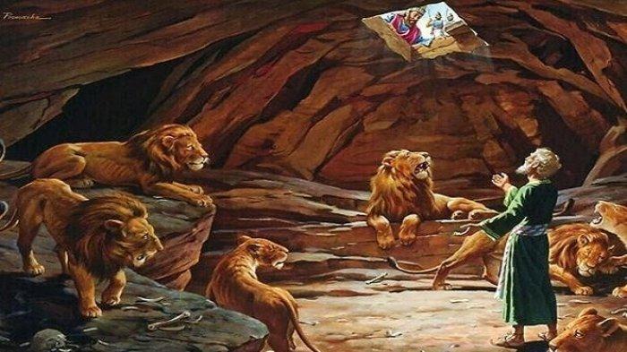 Kisah Daniel, Nabi Israel yang Dibuang ke Gua Singa, Dituduh Bersalah karena Berdoa Kepada Allah