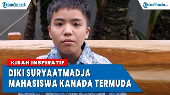 VIDEO Sosok Cendikiawan Suryaatmadja, Mahasiswa Kanada Termuda Asal Indonesia