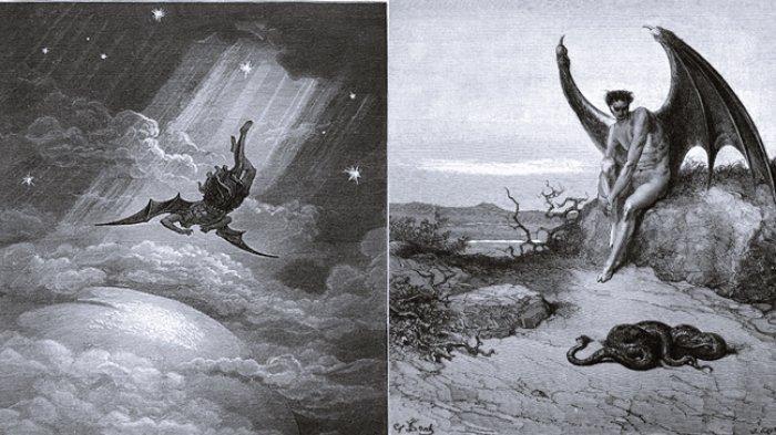 Kisah Lucifer, Malaikat Berhikmat yang Dibuang Tuhan dari Sorga, Tidak Puas dengan Segala yang Ada